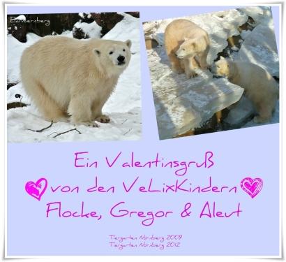 Valentins-Gruß von den VeLixKindern 2012