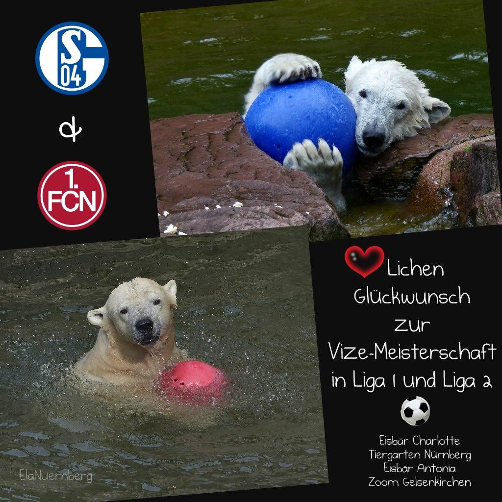 BÄRENstark - Vizemeister Antonia + Charlotte - Fußball - 2018 - Schalke - FCN