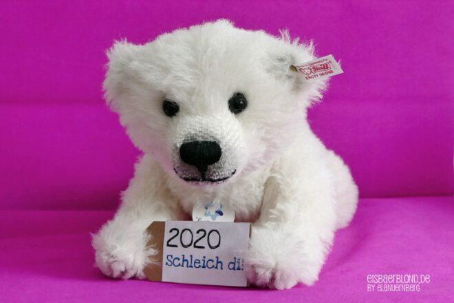 Schleich di! - Eisbär FLOCKE - Steiff - Silvester 2020.JPG - 3