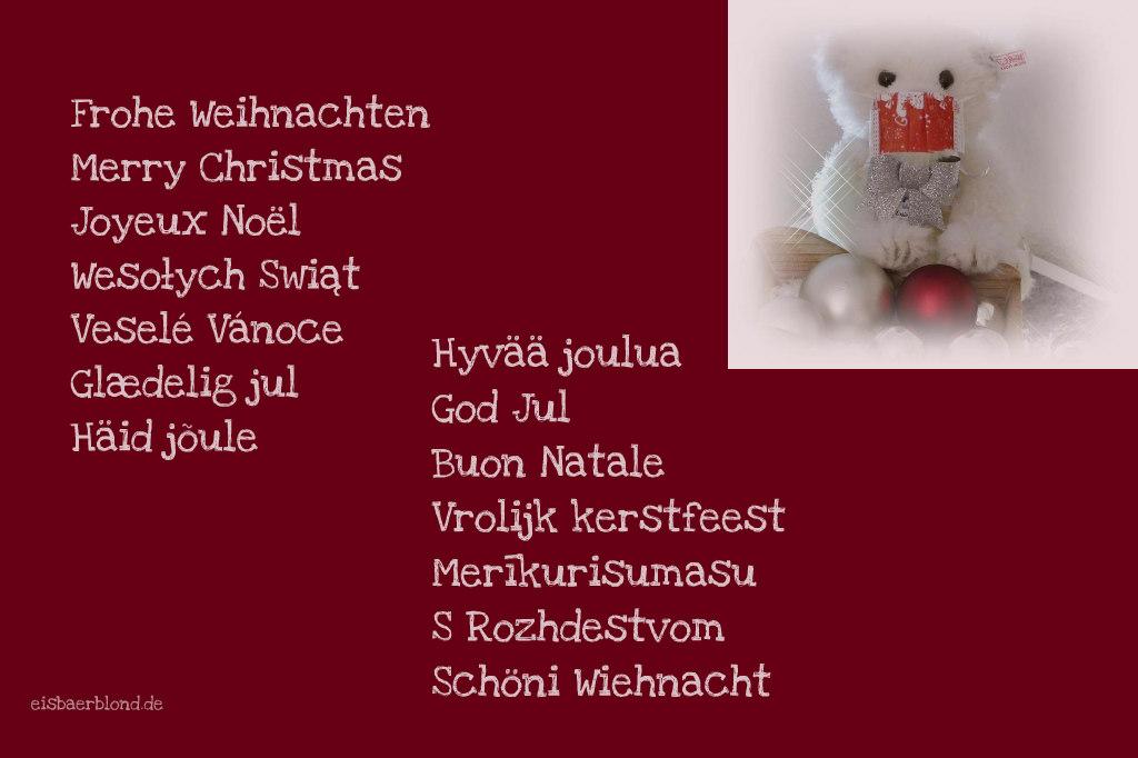 Besinnliche BÄRige Weihnachen 2020